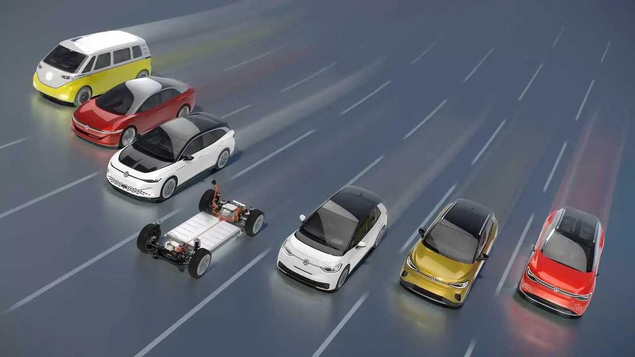 Volkswagen Group BEVs (MEB-based)