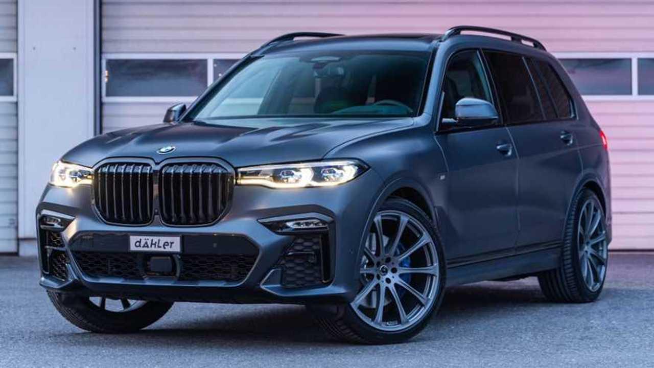 Dahler BMW X7 Dark Shadow Edition announced.