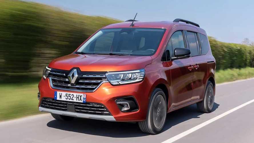 Renault Kangoo (2021) auf Live-Bildern