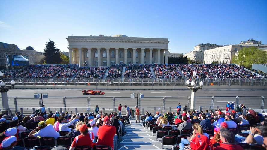 Baku would welcome hosting future F1 sprint races