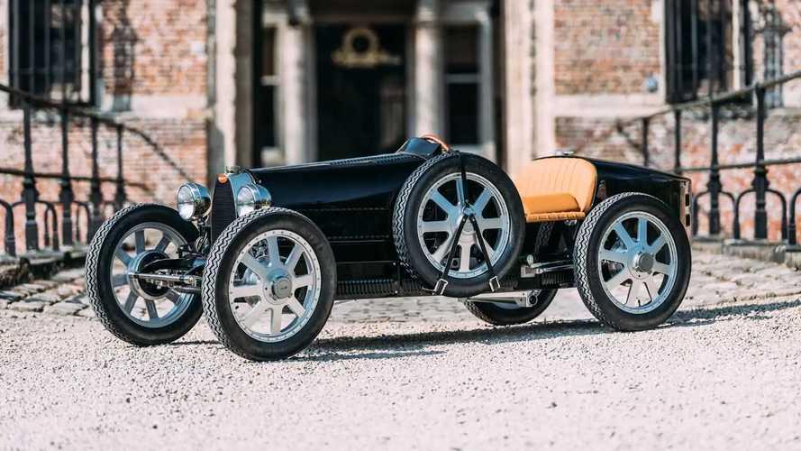 Even the Bugatti Baby II is highly bespoke