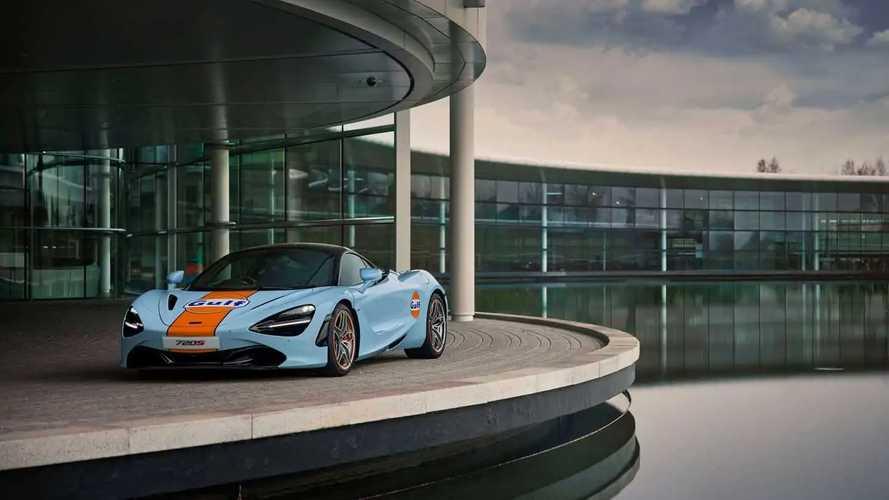 McLaren 720S con decoración Gulf