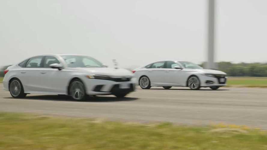 Yeni Honda Civic, Accord ile yarışıyor