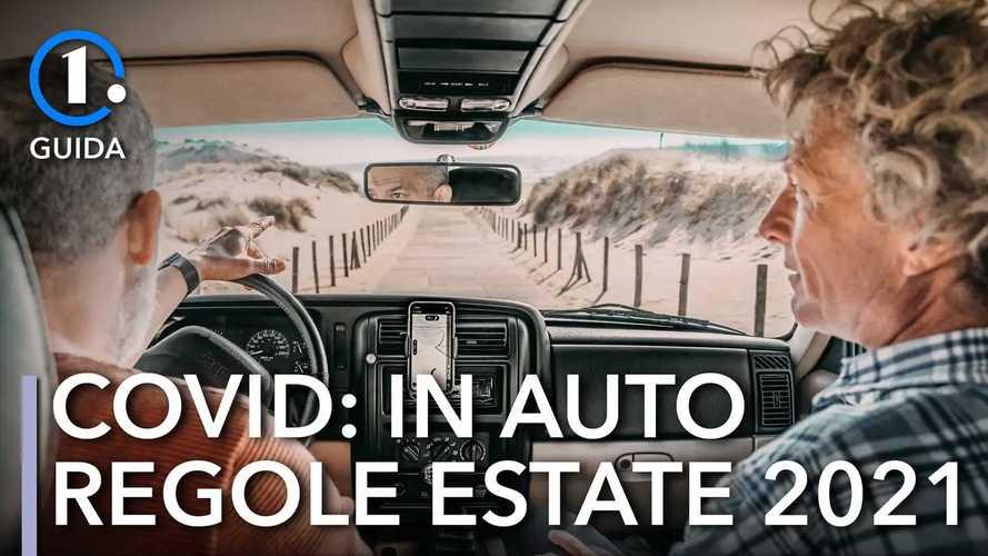 Viaggiare in auto, le regole anti-Covid per l'estate 2021
