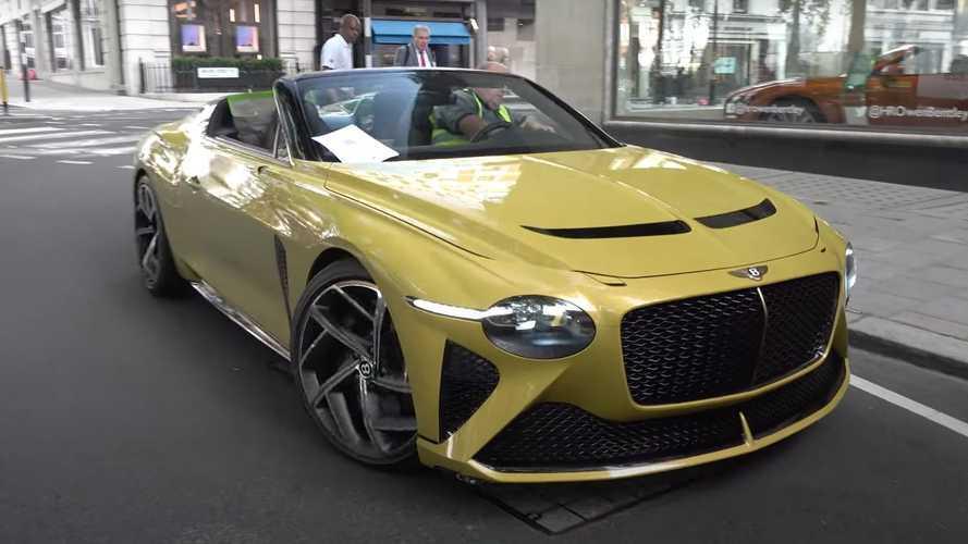 Bentley Bacalar Terlihat Sangat Sensasional di Jalanan London