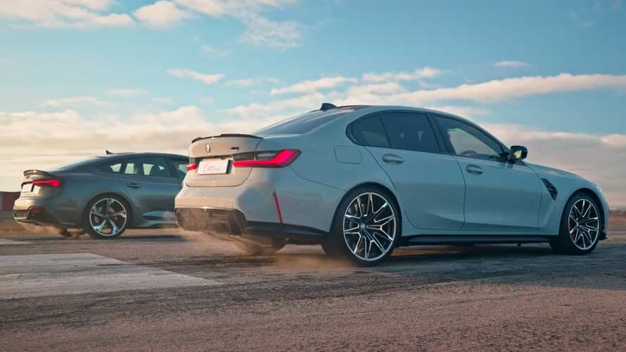 Audi RS5 Vs BMW M3 Drag Race Shows The Importance Of AWD