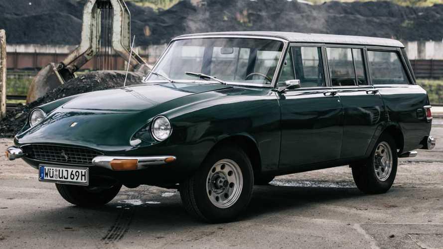 1969 model  Jeep ve Ferrari karışımı bu aracı görmüş müydünüz?