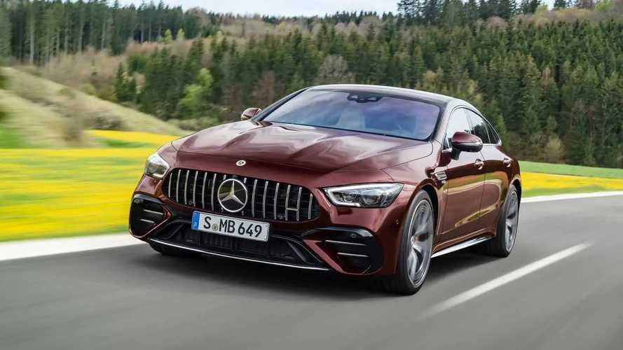 La Mercedes-AMG GT Coupé 4 portes s'offre une cure de jouvence