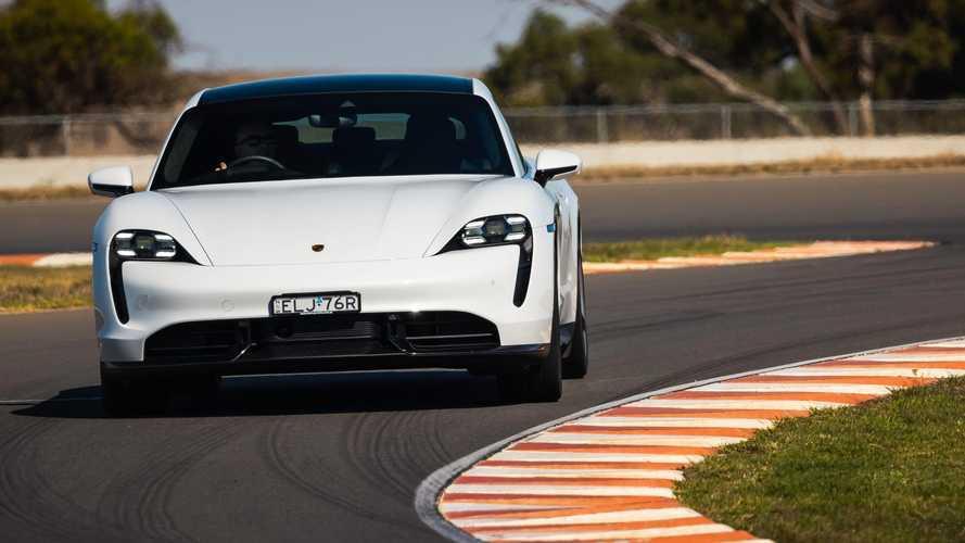 Körrekordot futott a Porsche Taycan egy ausztrál pályán