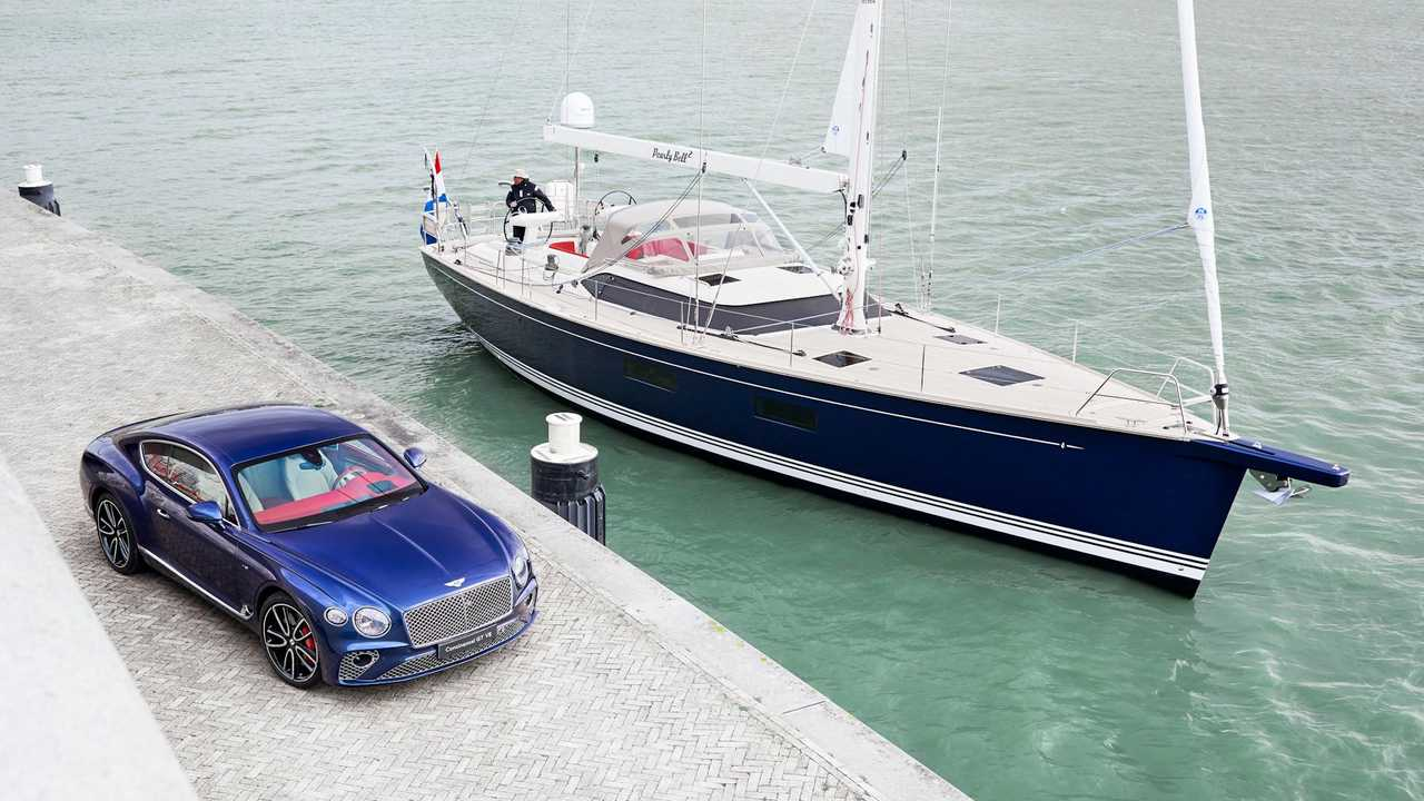 Bentley designs a one-off yacht interior.