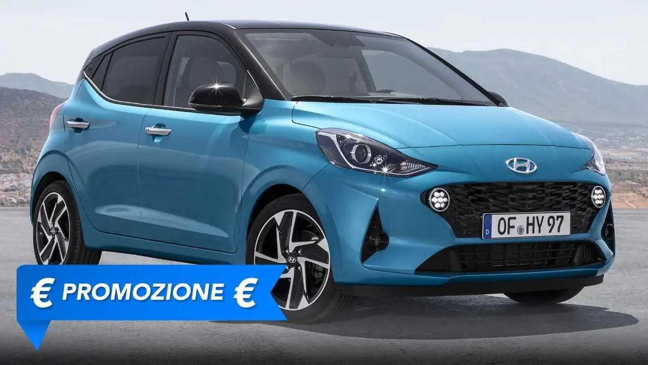 Promozione della Hyundai i10 per Giugno 2021