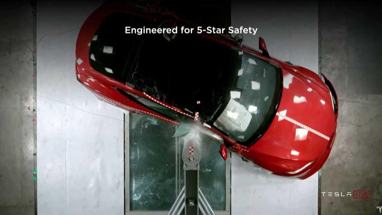 Tesla Model S Plaid safety