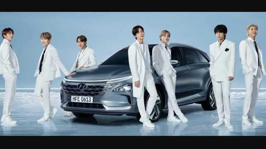 Heboh BTS Meal, Hyundai Duluan Gandeng BTS Promosikan Ioniq EV