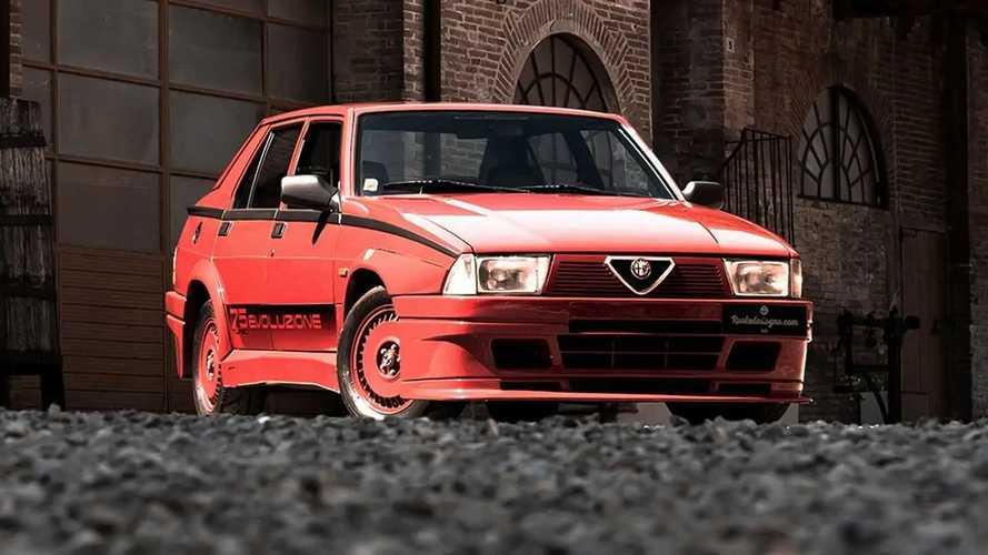 """Alfa Romeo 75 Turbo Evoluzione, """"zia"""" della Giulia GTA vendesi"""