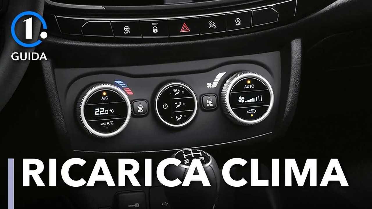 Climatizzatore auto, la ricarica