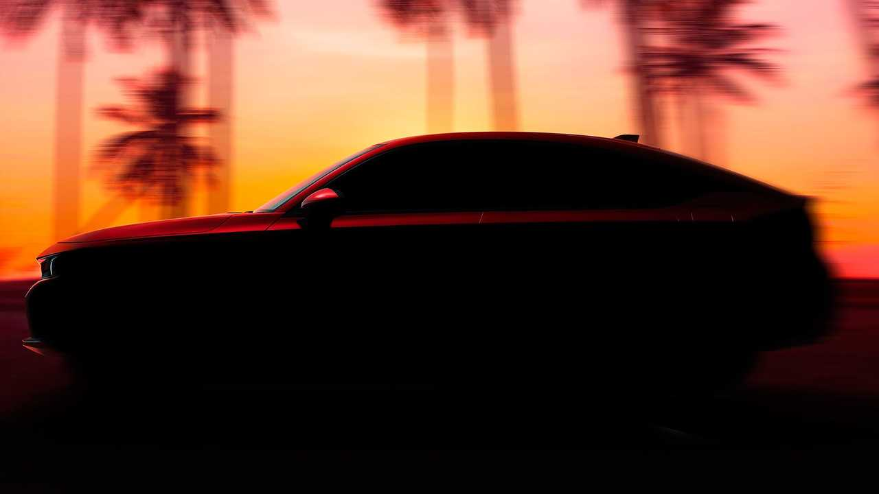 Honda Civic Hatchback 2022 - Teaser