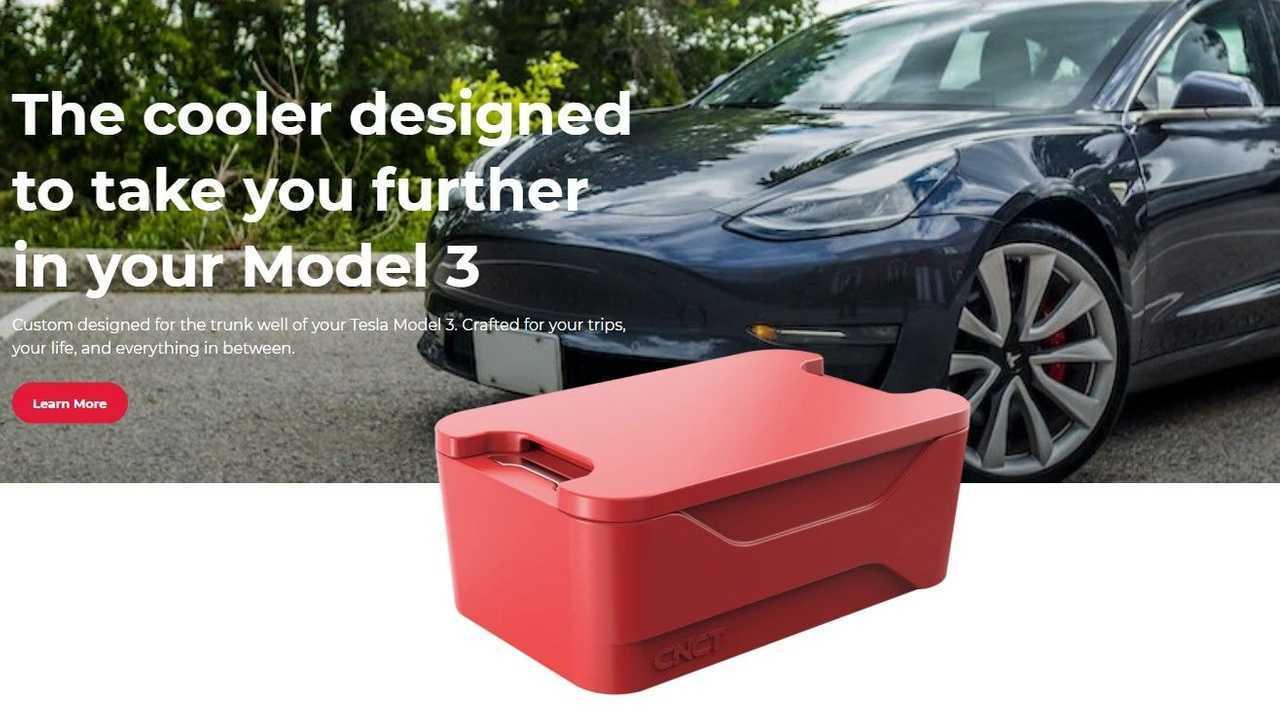 CNCT Trunk Cooler for Model 3