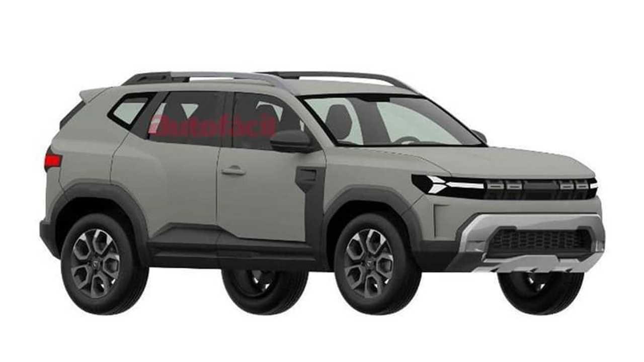 Dacia Bigster de producción