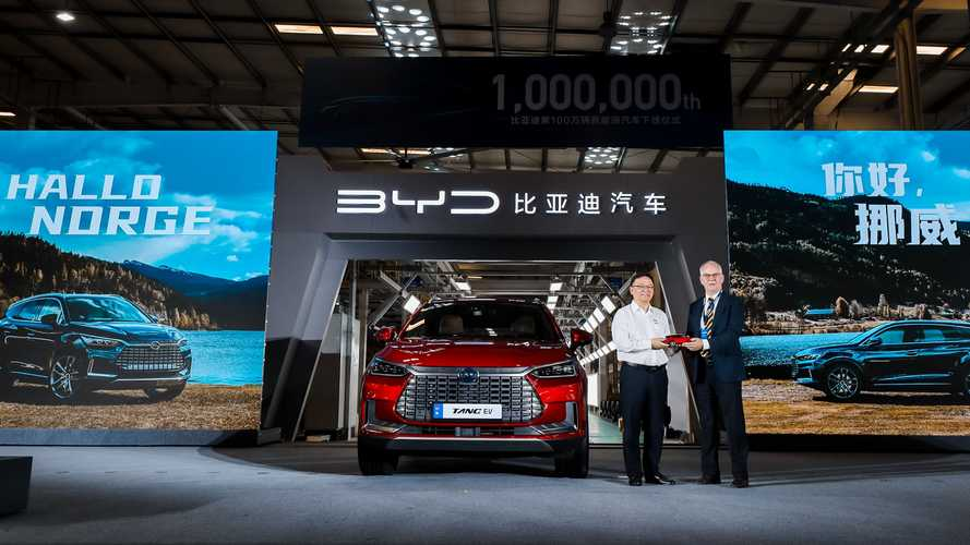 BYD: The First 100 Tang SUVs Were Sent To Norway
