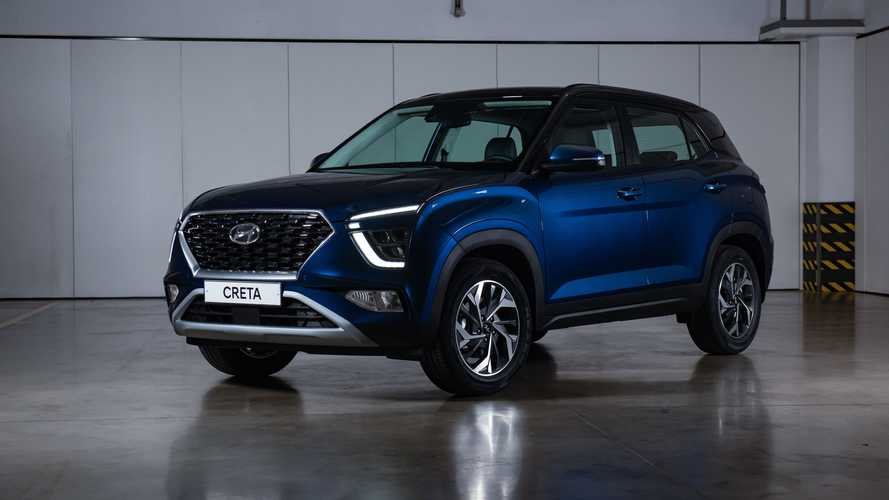 Novo Hyundai Creta russo adianta design do modelo brasileiro