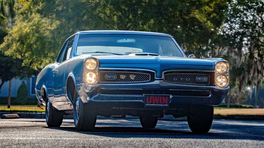 This Amazingly Restored 1967 Pontiac GTO Could Be Yours If You Enter