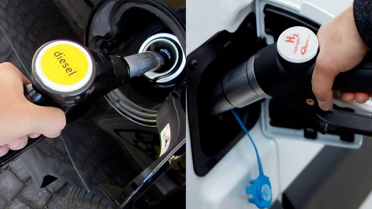 Idrogeno contro Diesel