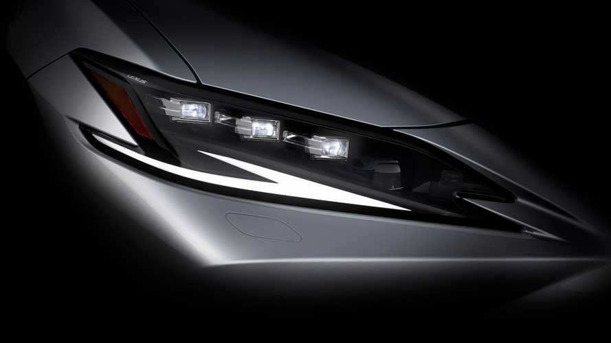 2022 Lexus ES facelift teaser video announces 19 April premiere