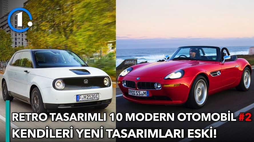 Retro tasarımlı modern otomobiller #2 | Bilgin Olsun