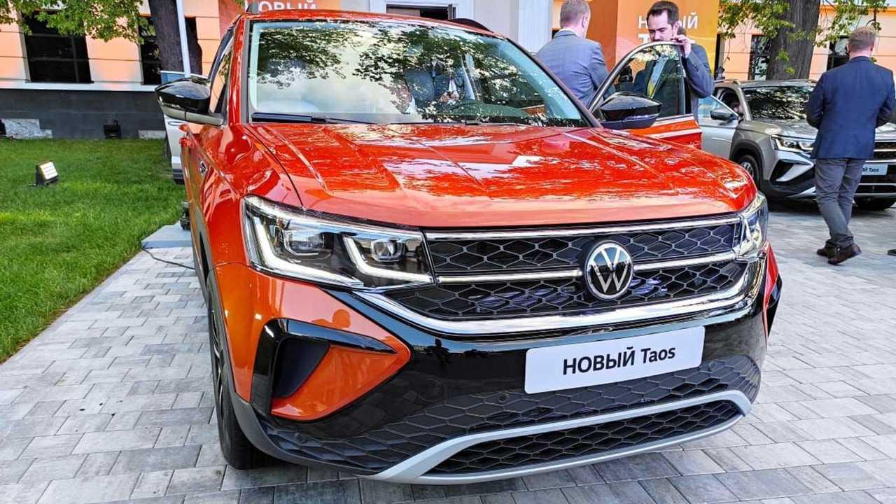 Российская премьера Volkswagen Taos