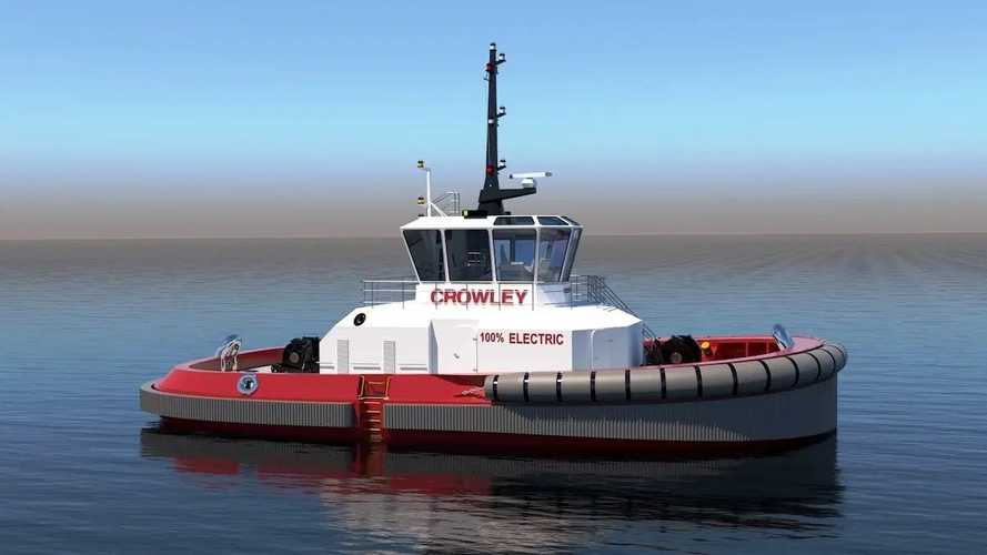 Crowley Hints At 6 MWh Electric Tugboat  With Autonomous Tech