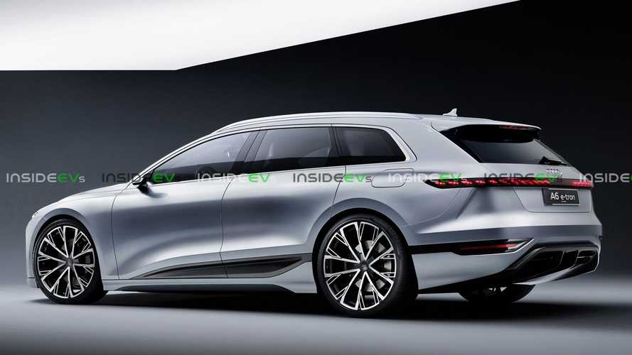 An Audi A6 Avant E-Tron Could Look Just Like This One