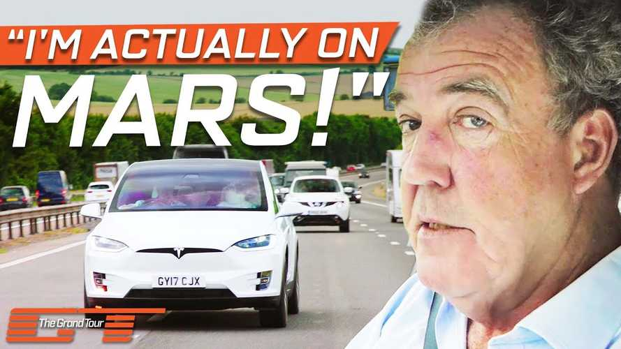 Jeremy Clarkson Doesn't Find Anything Bad With The Tesla Model X