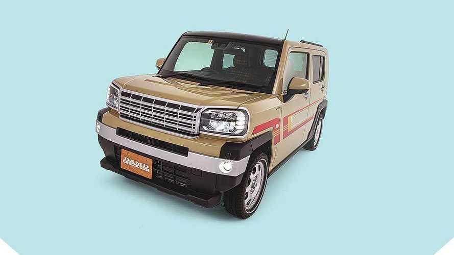 DAMD Daihatsu Taft Little D And 80's