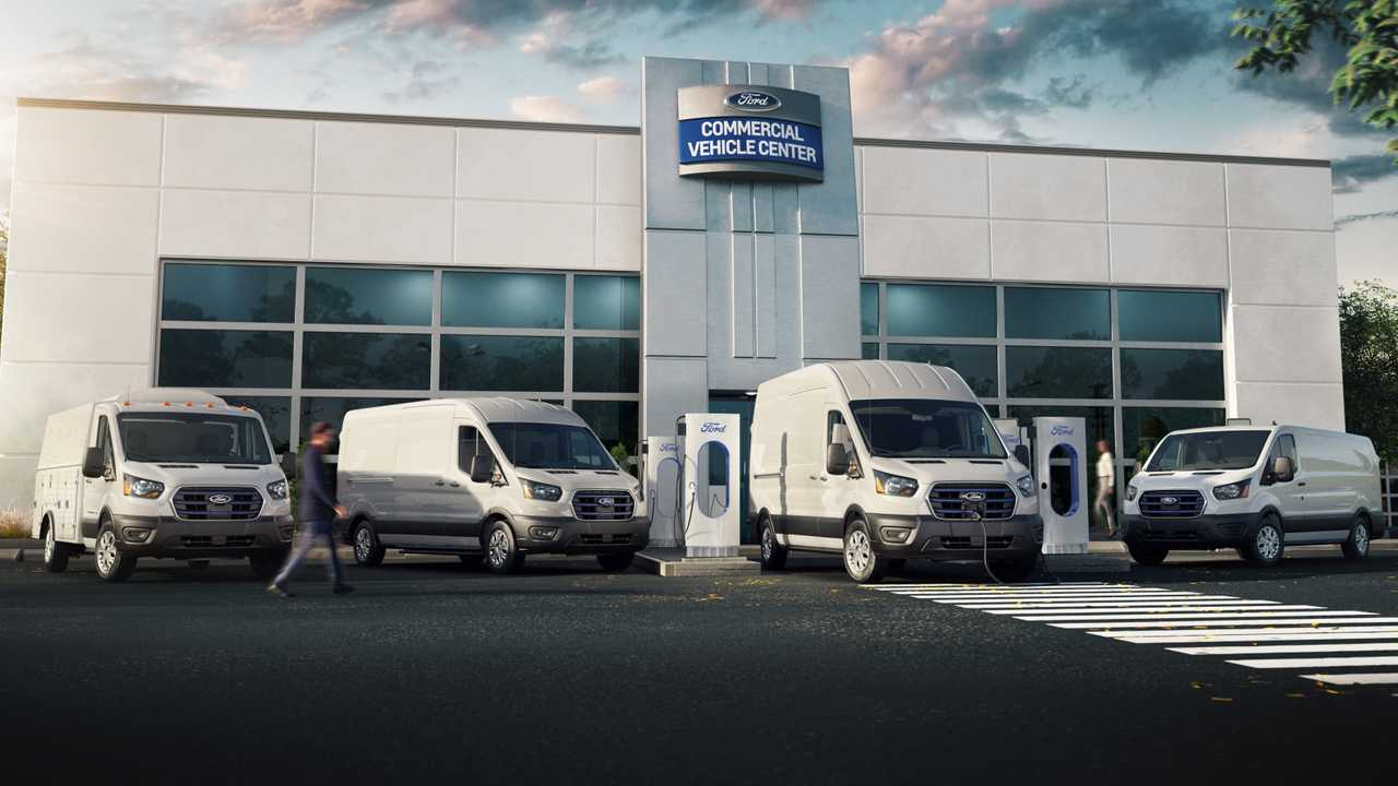 ford commercial vehicle lineup together