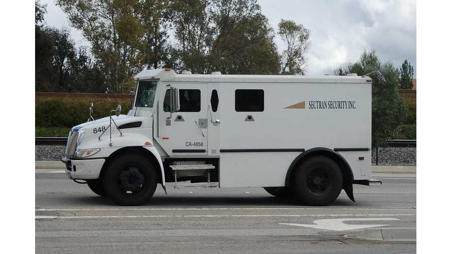 Armored Vehicles Converted To Plug-In Hybrid