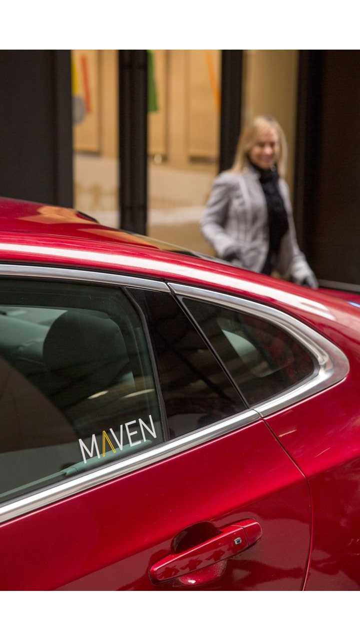 General Motors' new car-sharing service, Maven, will provide customers access to highly personalized, on-demand mobility services. Maven will offer its car-sharing program in Ann Arbor, Michigan, initially focusing on serving faculty and students at the University of Michigan. GM vehicles will be available at 21 spots across the city. Additional city-based programs will launch in major U.S. metropolitan areas later this year. (Photo by John F. Martin for General Motors)