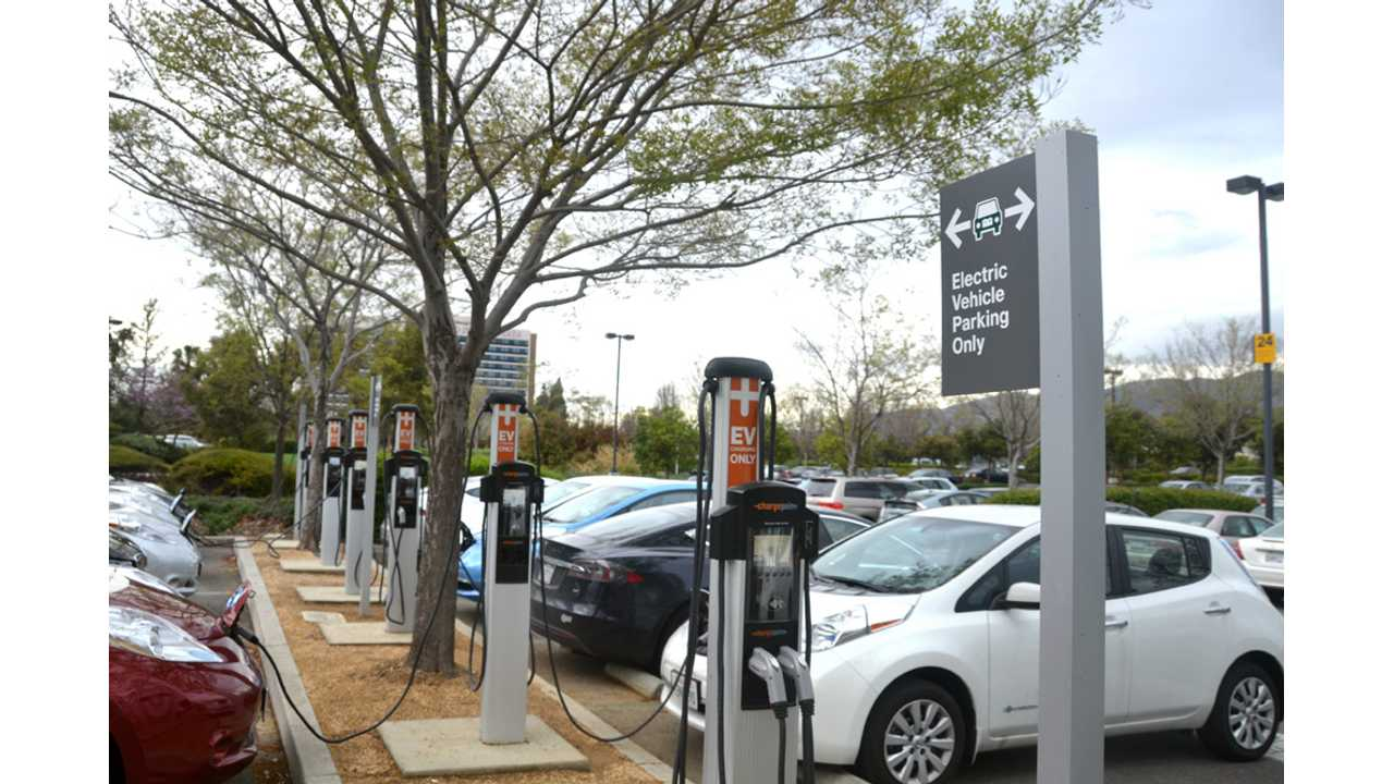 ChargePoint CT4000 stations