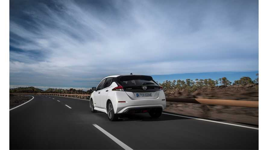 2018 Nissan LEAF Orders Exceed 40,000 Globally