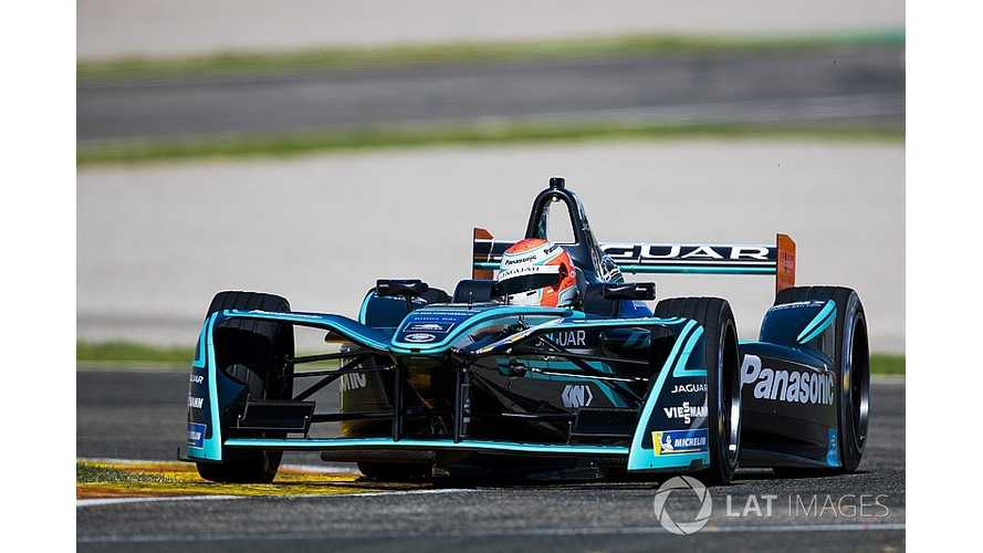 Nelson Piquet Jr. On Marrakesh Formula E Race