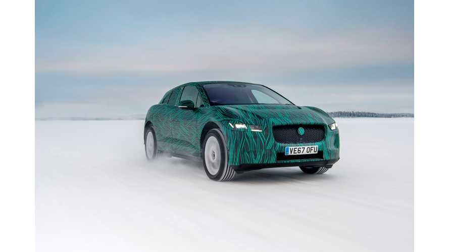 Jaguar I-PACE To Launch On March 1, 45-Minute 80% Charging Confirmed - Winter Test Video
