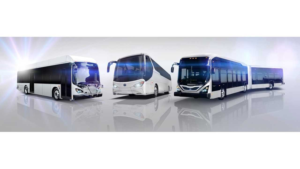 AVTA to Become America's First 100% Electric Bus Fleet By 2018! Up To 85 BYD Buses