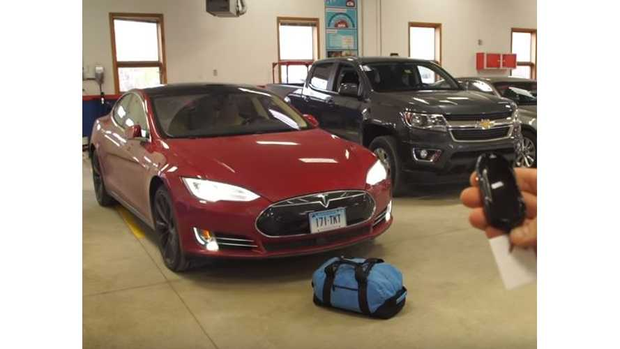 Consumer Reports Finds Potentially Fatal Flaw With Tesla Summons Feature, Automaker Promises Immediate Fix - Video