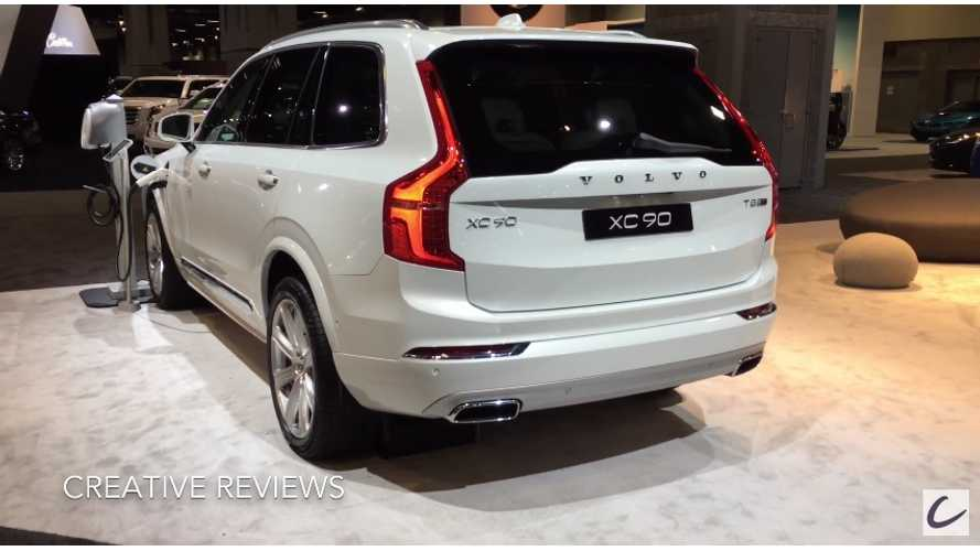 Volvo XC90 T8 Twin Engine At The 2016 Washington Auto Show - Video