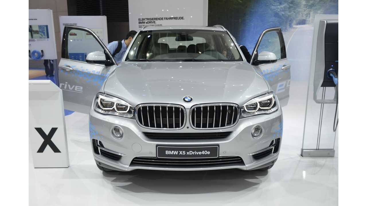 BMW X5 xDrive40e Gets Official EPA Ratings