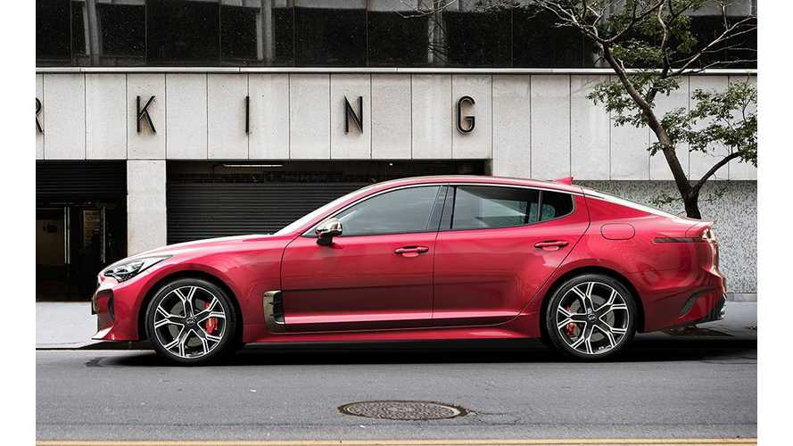 Tesla Model S Knock-Off Kia Stinger May Go All-Electric For 2020