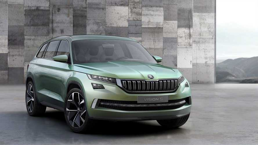 Škoda To Unveil VisionS Plug-In Hybrid Concept At Geneva Motor Show