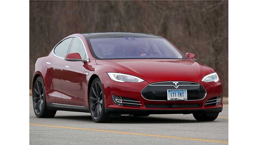Tesla Model S Scores 103 Points On Consumer Reports' 0-100 Rating Scale