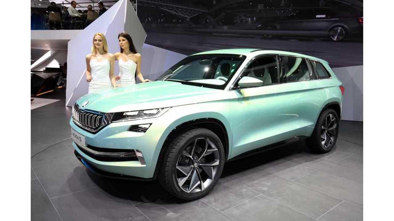 Skoda Details EV Plans, Now Actively Developing Long-Range Electric SUV