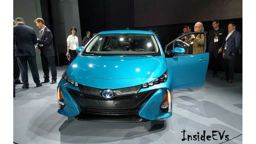 Toyota Considers Ditching Conventional Hybrid Prius In Favor Of PHEV-Only Approach