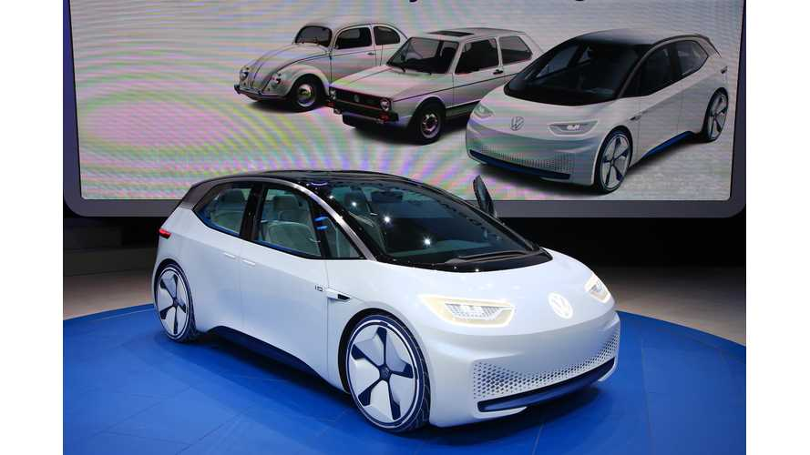 Volkswagen I.D. At The Paris Motor Show - Photos & Videos